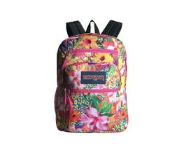 JANSPORT Big Student School Backpack Tropical Mania Multiple