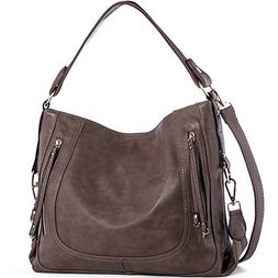 UTAKE Women's Shoulder Bags, leather with high quality gold