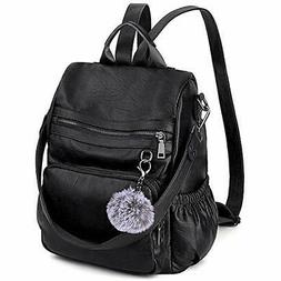 Anti-Theft Convertible Backpack Purse for Women UTO 3 Ways R