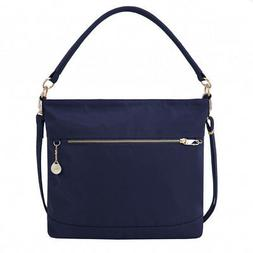 Travelon Anti Theft Tailored Slouch Tote Sapphire 43196-341