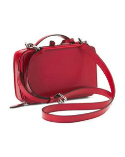 Lodis Audrey Sally Red Leather Designer Handbag New with Tag