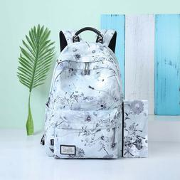 Backpack for girls High School College Bags Student School B