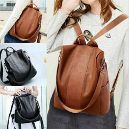 Backpack Purse for Women Girl Lday Fashion PU Shoulder Bag H