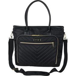 """Kenneth Cole Reaction Chelsea Quilted Chevron 15"""" Women's Bu"""
