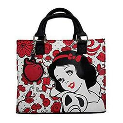 Loungefly Disney Snow White Red And White Duffle Purse NEW I