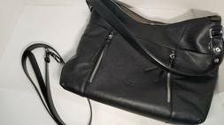Cluci Genuine Leather Handbag Top-handle Tote Purse Shoulder