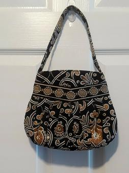 Vera Bradley Handbag, Brown Paisley Print, New, No Tags