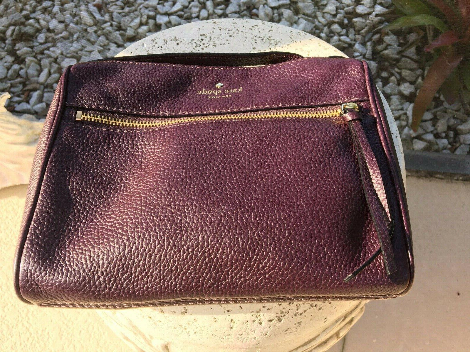 CLEARANCE- REDUCED KATE SPADE New plum crossbody leather