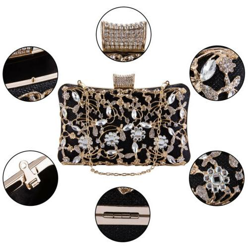 Evening Bags Crossbody Clutches