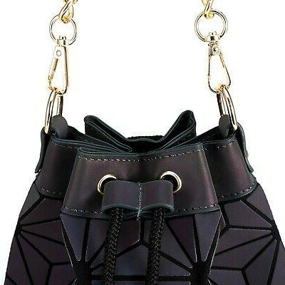 Geometric For Women Holographic Tote Reflectiv...