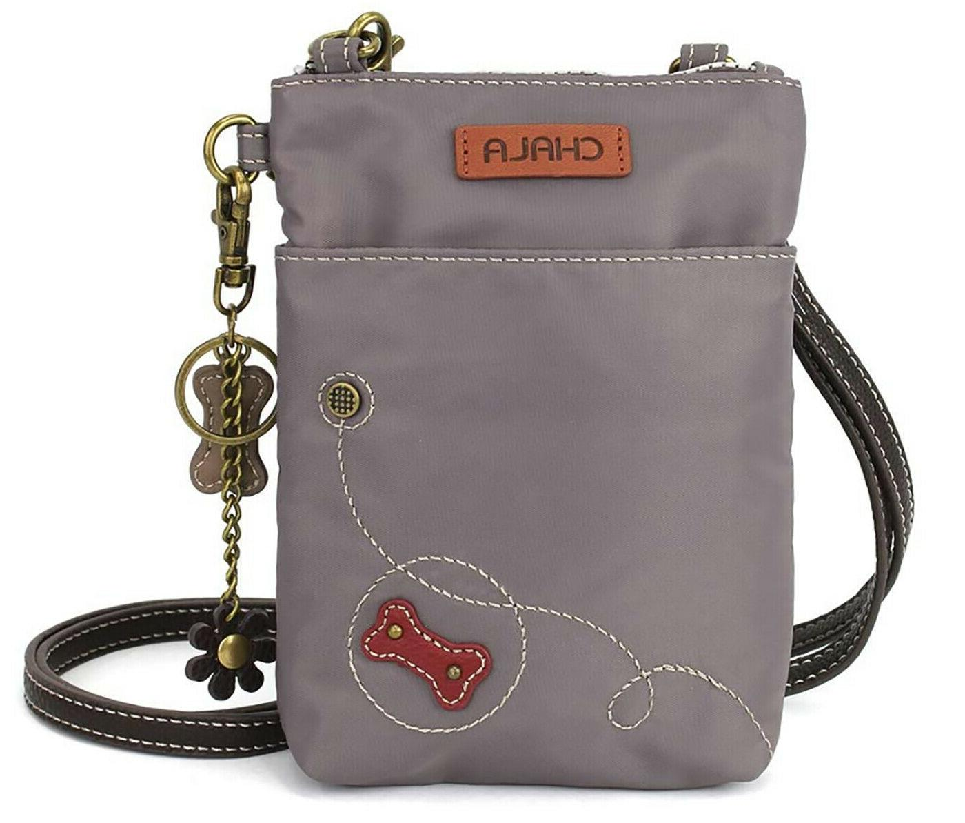 Chala Paw Cell Crossbody Bag with - Protection