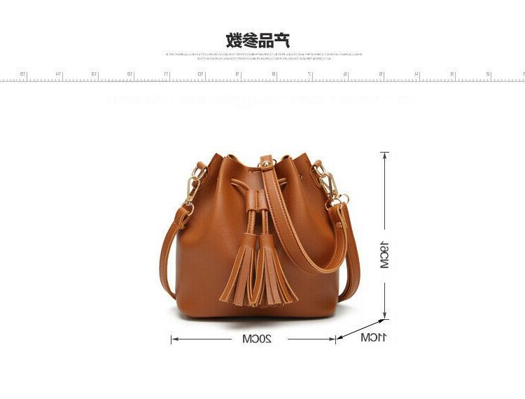 Fashion Leather Long Shoulder Bags For