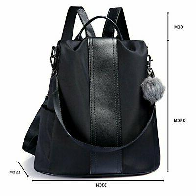 Luc security waterproof lightweight shoulder handbag 3way