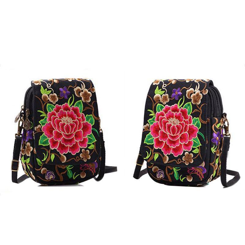 Women Mini Bag Crossbody Canvas