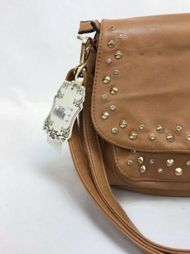 NWT Faux Leather & Free Bag
