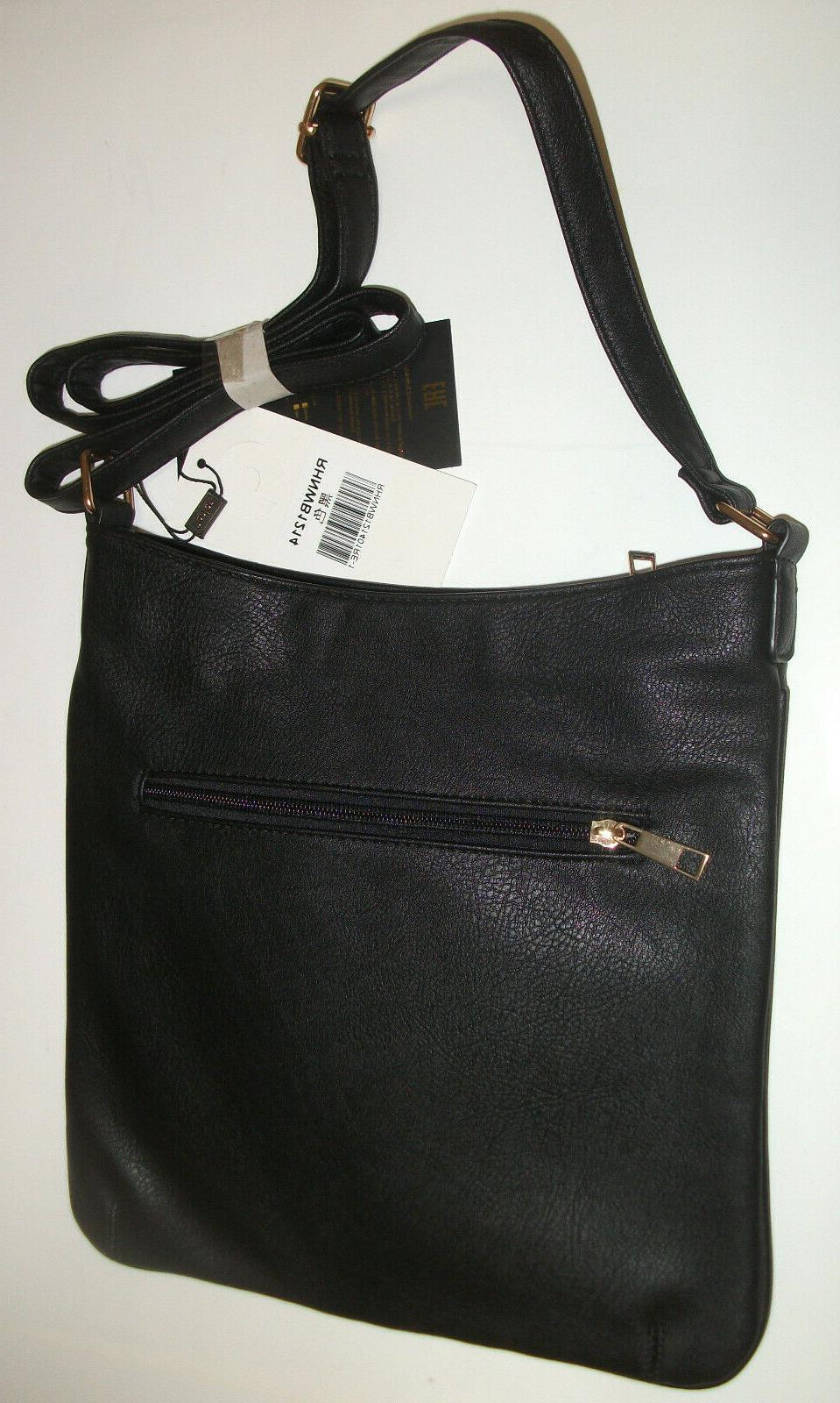 MESSENGER BAG HANDBAGS DESIGNER BLACK