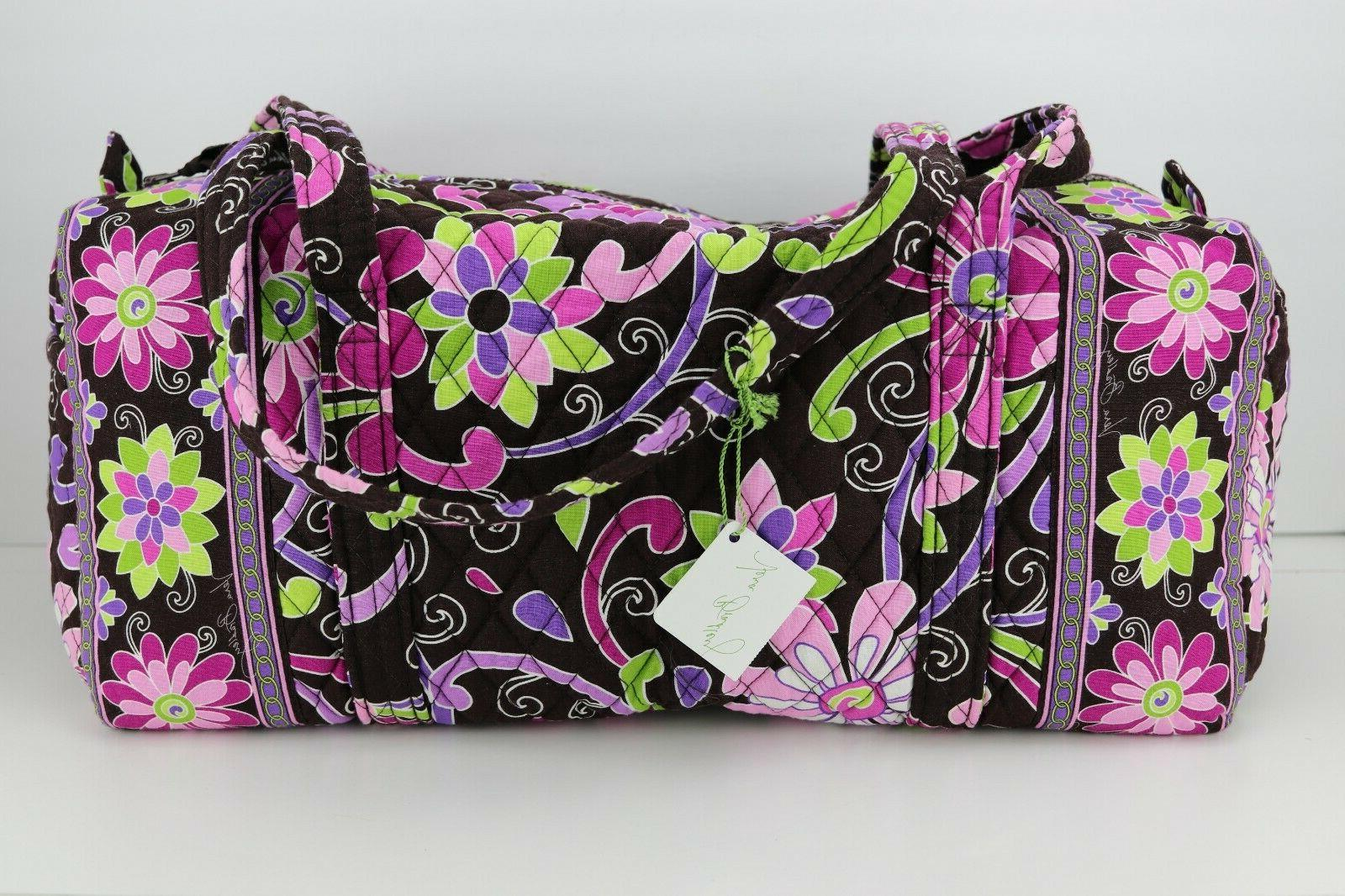 small duffel retired purple punch nwt