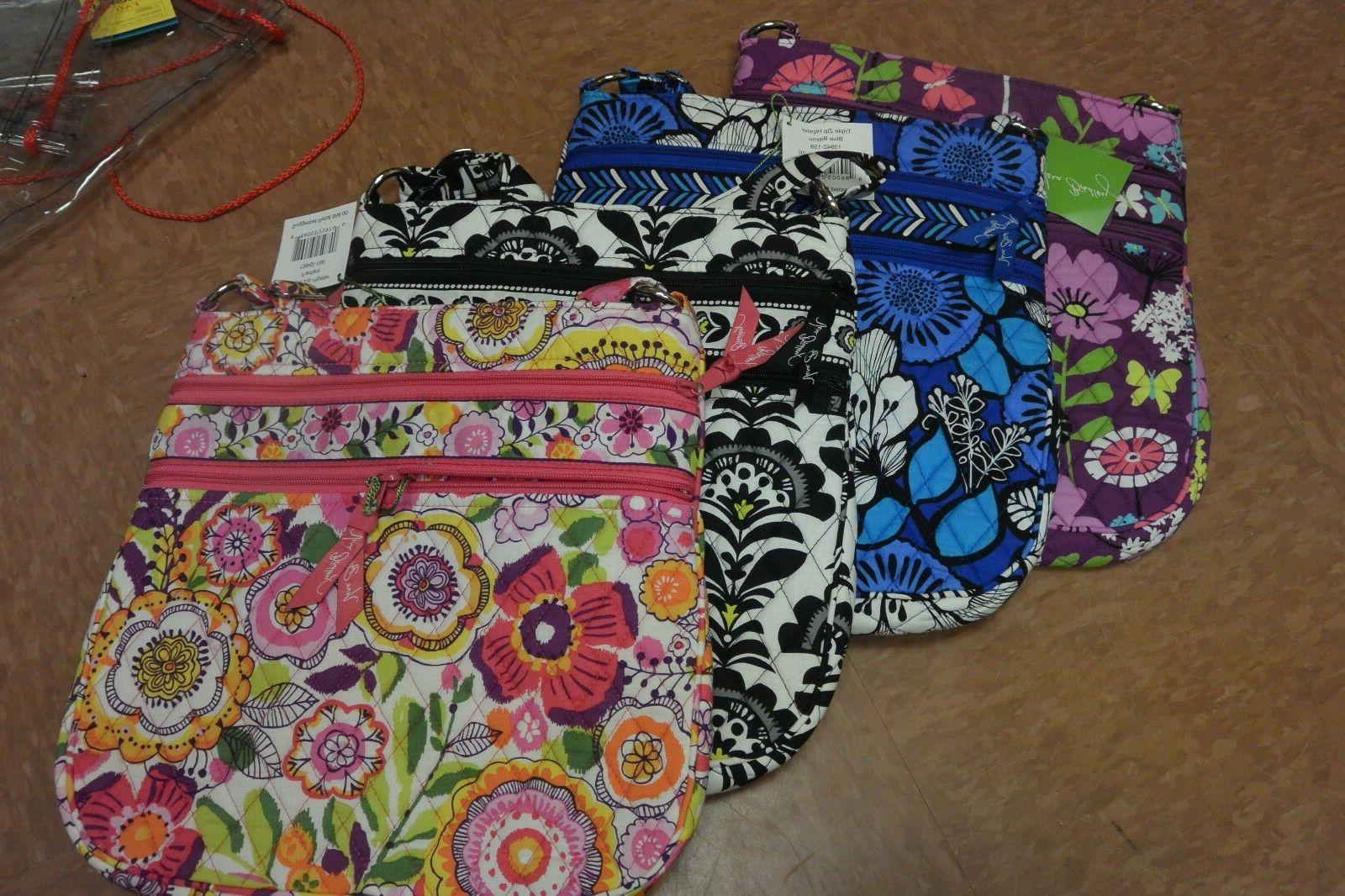 Vera Zip Hipster SO MANY NWT