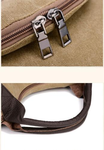 Women Shoulder Cross Body Pocket Casual Canvas Large Capacity Bags