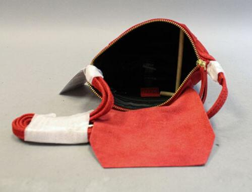ASOS Women's Leather Over Red NWT