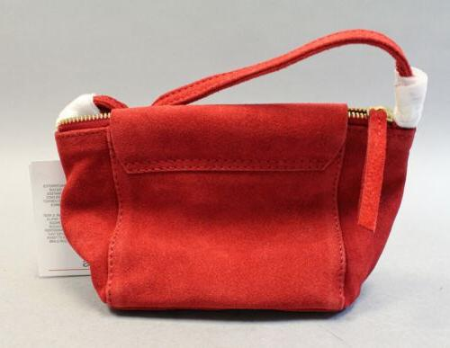 ASOS Leather The Shoulder MW7 Red