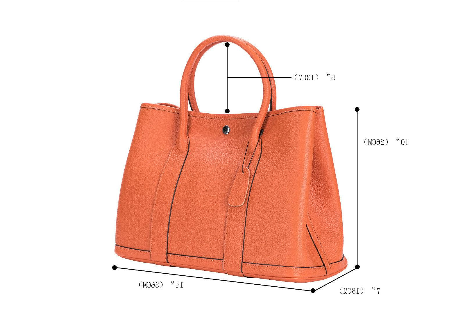 Women's Bag Genuine Leather Top 36cm