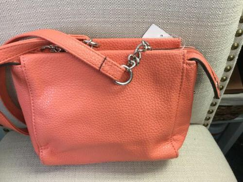 Nine West Zip Crossbody Handbag. NWT