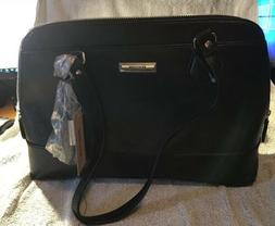 KENNETH COLE REACTION LARGE LADIES' BLACK HANDBAG, EXCEPTION