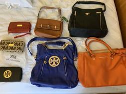 Lot Of Faux Women's Purses And Handbags Wallets