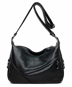 Molodo Accent Retro Sling Leather Corssbody Bag For Women Me