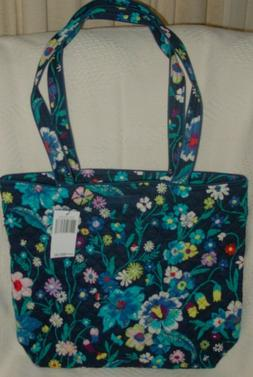 Vera Bradley MOONLIGHT GARDEN  ICONIC TOTE BAG-NWT-Fast, Fre