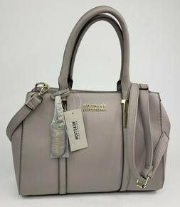 New Kenneth Cole Reaction Grey Triple Entry Harriet Satchel
