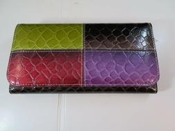 New Handbags & Purses Multi-Colored & Chocolate Women's Wall