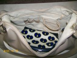 Purse Nine West Beige Leather with many pockets