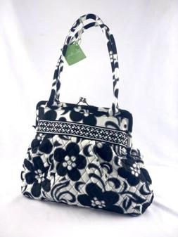 Vera Bradley Quilted ALICE Night and Day Handbag Purse Clasp