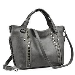 Tote Bag for Women Large Faux Leather Purse and Handbags Lad