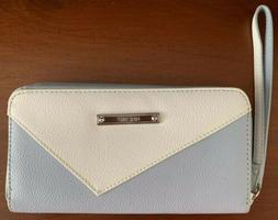 Nine West Wallet Light Blue And White