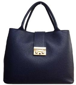 Woman Genuine Leather handbag. Made in Italy. BC9027- 8 colo
