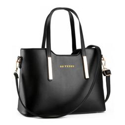 women s handbag leather messenger shoulder tote
