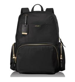 Tumi Women's Voyageur Calais Backpack Black for Business Tra