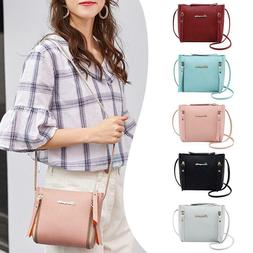 Women Shoulder Bag Handbags PU Leather Crossbody Purse Tote