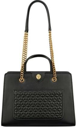 Women's Purses Anne Klein Quilted Chain Handbags F Leather