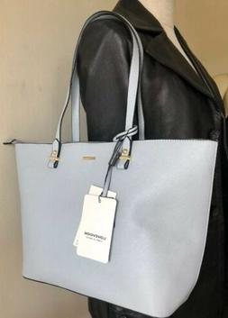 LOVEVOOK WOMEN'S SATCHEL SLIVER GREY FAUX LEATHER TWO STRA